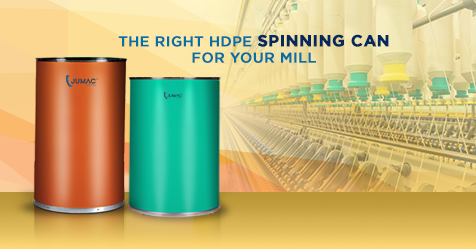 How to choose the right HDPE Spinning Can for your Spinning Mill